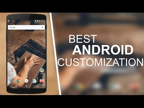 Best Android Customization Apps 2016