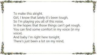 Chase Coy - To Make This Alright Lyrics