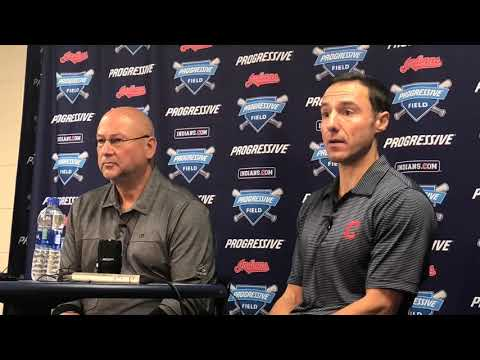 Chris Antonetti addresses the future of the Cleveland Indians