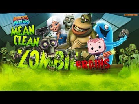 Monsters vs Aliens - Mean Clean Zombies