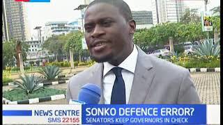 Sonko defence error? :News Centre full bulletin