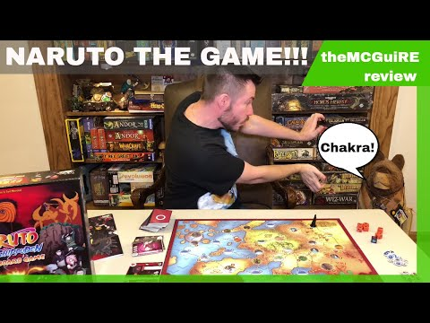 theMCGuiRE review looks at NARUTO SHIPPUDEN THE BOARD GAME!