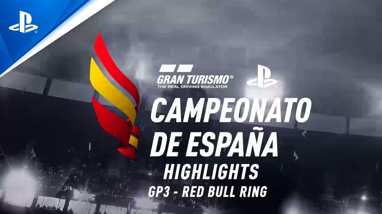 José Serrano fortalece su liderato en el tercer Gran Premio del Campeonato de España de Gran Turismo