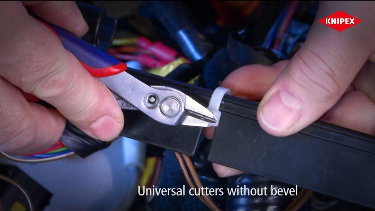 Видео: KNIPEX Electronic Super Knips® XL