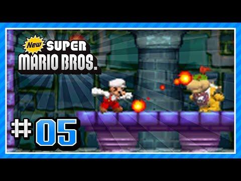 New Super Mario Bros  Walkthrough - (DS) 100% - World 2-5, 2