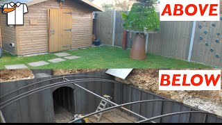 Backyard Underground Bunker Tour/Update 5 years on