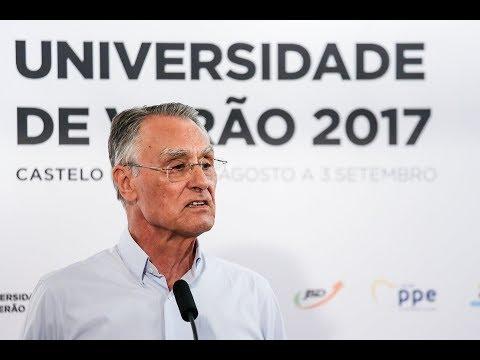 Intervenção do Prof. Aníbal Cavaco Silva