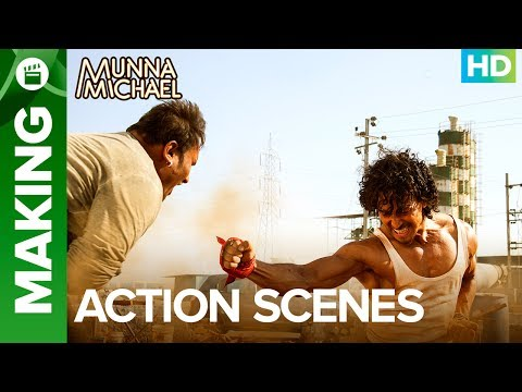 Download Munna Michael Action Scenes (Making) | Tiger Shroff & Nidhhi Agerwal
