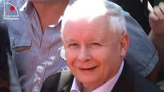 Kaczyński w Dygowie: Uwielbiony.