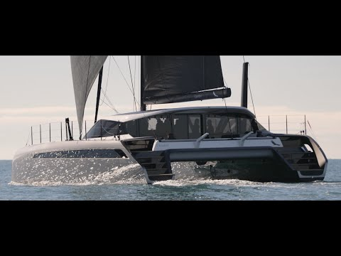 Gunboat 68 video