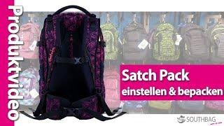 Satch Pack Schulrucksack - richtig einstellen und bepacken