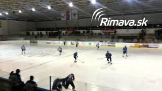 preview picture of video 'HKM RIMAVSKÁ SOBOTA - Hokejový club Lučenec 9:4 (1:1, 4:2, 4:1)'