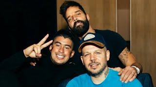 Bad Bunny, Ricky Martin & Residente Cántalo   En Estudio