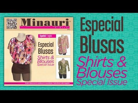 Minauri Digital Nº 03 - Blouses - Blusas - ( Bilingual )