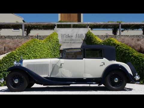Hispano Suiza J12 1931 NZ Journeys - Cape Rianga to Bluff