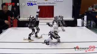 """これが""""ターミネーター""""の始まりか!?ロボット同士がプロレスで闘う映像を入手!"""