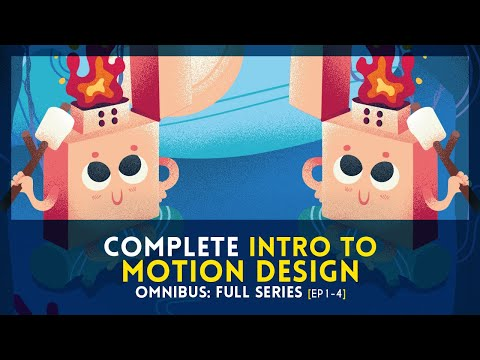 Complete Intro to Motion Design [Ep1-4] | FULL COURSE