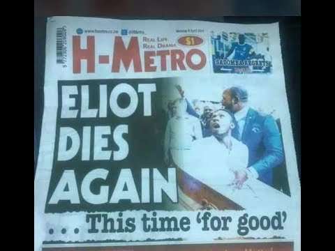 Elliot finally dies.... God cannot be mocked