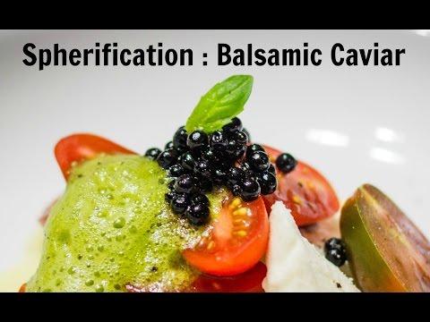 Molecular Gastronomy Quick Tip – Balsamic Caviar – SamCanChef