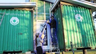 Installing The Siding On Our SELF-BUILT House!