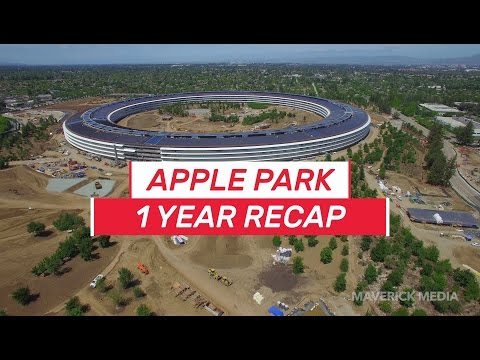 APPLE PARK 1 Year Recap 4K