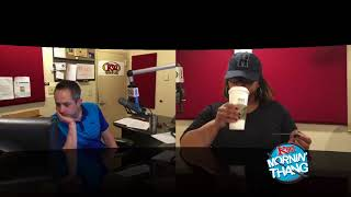 The K92 Mornin' Thang LIVE Feed: Wednesday 05/16/18