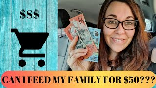 CAN $50 FEED MY FAMILY FOR A WEEK??? ALDI AUSTRALIA GROCERY HAUL!!!!