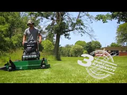 2019 Bob-Cat Mowers Hydro Drive Z Control 36 in. in Brockway, Pennsylvania - Video 1
