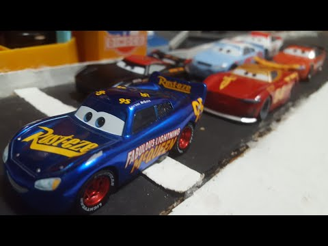 Disney Pixar Cars 3 Thomasville Racing Legends (Xtreme Racing Series) Complete Wave 1 Set Review