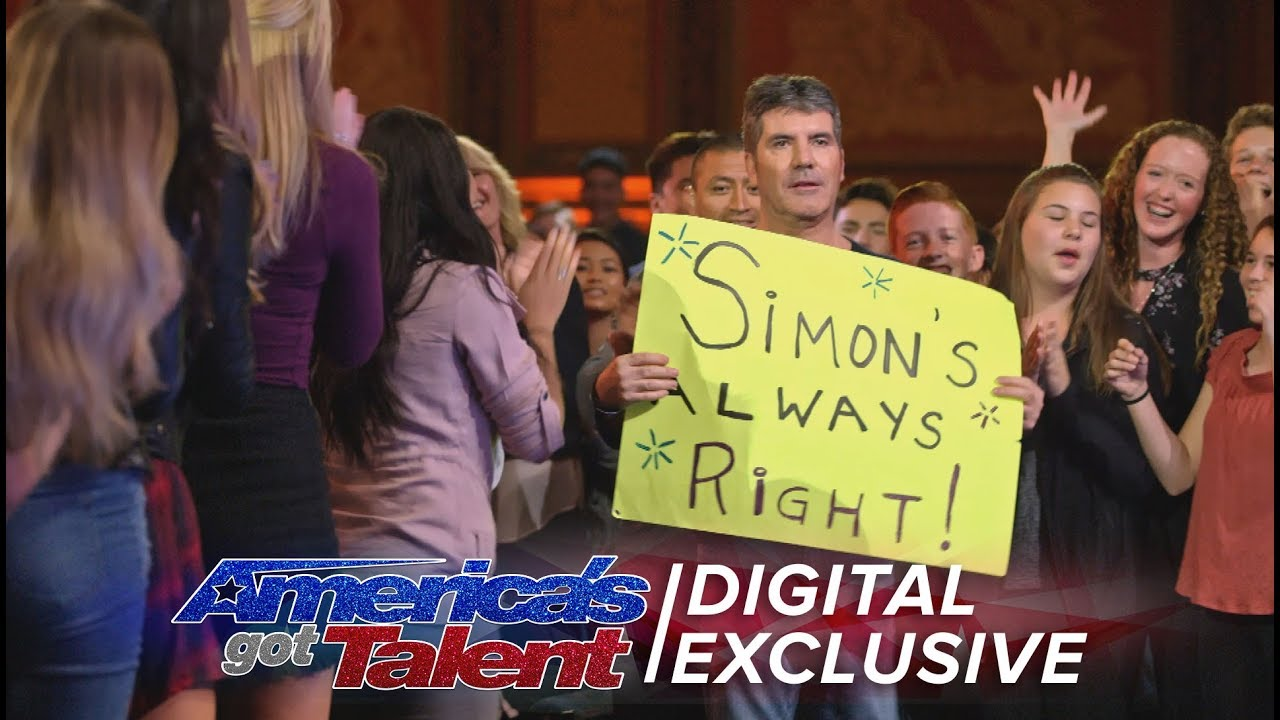 Simon Cowell: Ladies Man and Tangerine Fan - America's Got Talent 2017 thumbnail