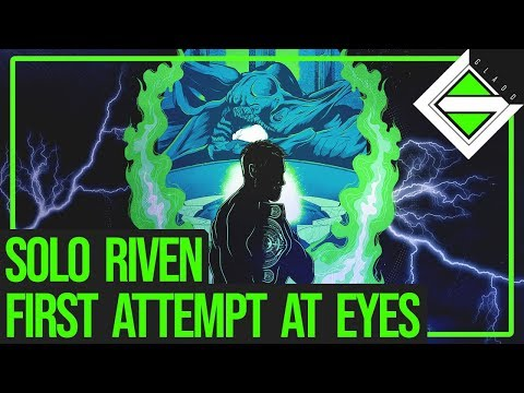 Solo Riven - First Attempt Shooting At Eyes | Destiny 2