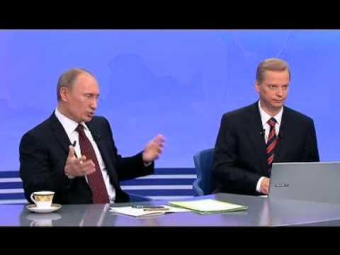 Q&A session, A Conversation with Vladimir Putin: Continued 2011 (English Subtitles)