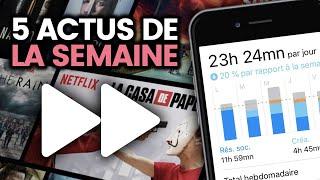 Votre addiction aux réseaux sociaux, la grève, Netflix en vitesse x2... 5 actus de la semaine