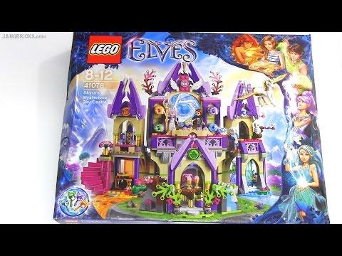 Vidéo LEGO Elves 41078 : Le château des cieux