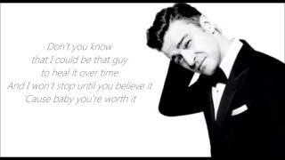 Justin Timberlake - Not A Bad Thing Lyric Video - Video Youtube