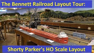 Layout Tour: Shorty Parker's HO Scale Layout
