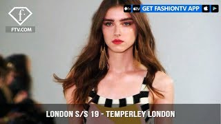 Temperley London At London Fashion Week Spring/Summer 2019 | FashionTV | FTV