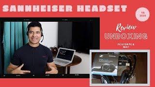 Sennheiser PC 8 over-ear usb voip headphone with mic   Sennheiser Headset Unboxing   Review   2020