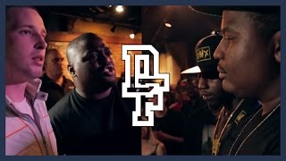 CHARRON & 100 BULLETZ VS DNA & K SHINE   Don't Flop Rap Battle