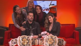 The Riott Squad lays siege to the WWE NOW set: WWE Exclusive, Feb. 17, 2019