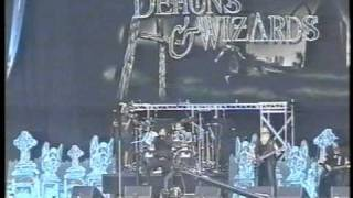 Demons & Wizards The Fiddler On The Green Monza Italy 2000.