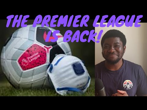 The Premier League Returns! What to Expect | Psycho-Pass Shoot Score
