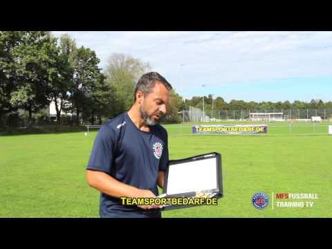 FUSSBALL - hochwertige Trainermappe (Leder) von Teamsportbedarf