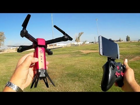 lishitoys-l6059-foldable-720p-hd-fpv-obstacle-avoidance-drone-flight-test-review