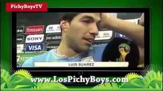 Luis Suarez muerde al italiano Chiellini en el mundial 2014 (¿Porque Lo Mordio?) HD