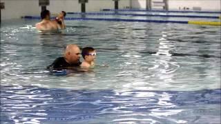 JuneBug the swimmer