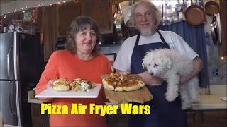 Air Fryer Pizza Wars!!