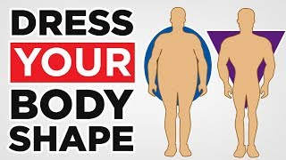 How To Dress Your Body Shape (Muscular, Skinny, Fat) Fashion Tips For Body Type   RMRS Style Videos