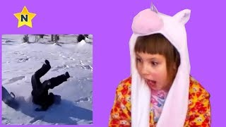Попробуй не засмейся челлендж Ника Чика Шоу приколы с детьми