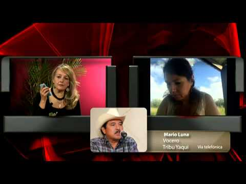 Dra. Raquel Padilla Ramos, Mario Luna y el Río Yaqui